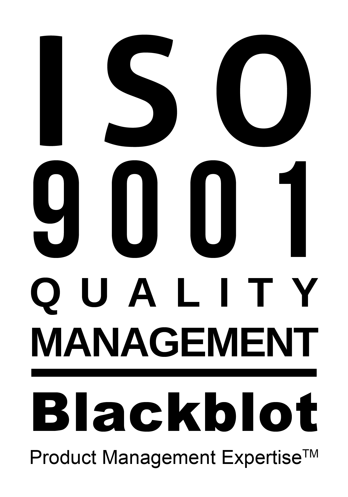 Blackblot ISO 9001:2008 Certified Business