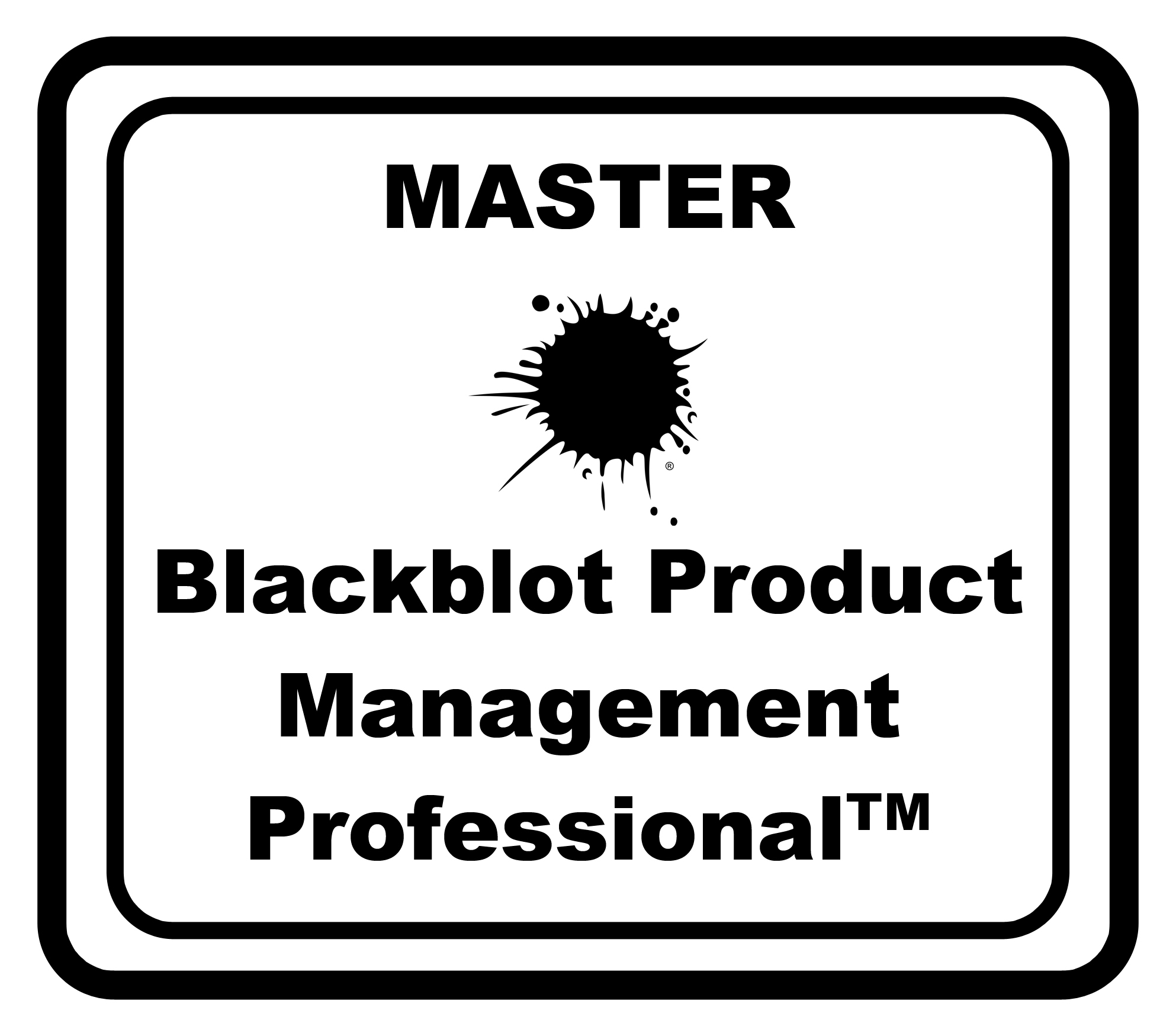 Master Blackblot Product Management Professional™ (Master BPMP)